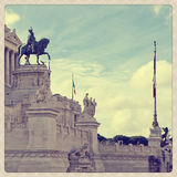 Plaza Venezia Royalty Free Stock Image