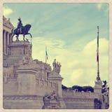 Plaza Venezia στοκ εικόνα με δικαίωμα ελεύθερης χρήσης