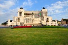 Plaza Venezia en Roma, Italia Fotografía de archivo libre de regalías