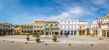Plaza Vieja - Αβάνα, Κούβα Στοκ φωτογραφίες με δικαίωμα ελεύθερης χρήσης
