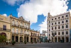 Plaza Vieja - Αβάνα, Κούβα Στοκ Εικόνες