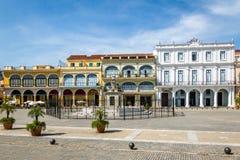 Plaza Vieja - Αβάνα, Κούβα Στοκ εικόνες με δικαίωμα ελεύθερης χρήσης
