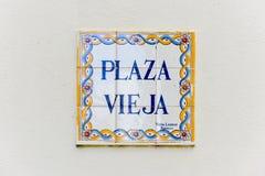 Plaza Vieja - Αβάνα, Στοκ Φωτογραφίες