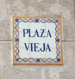 Plaza vieja Royalty Free Stock Photos