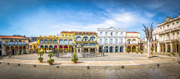 Plaza Vieja - Havana, Cuba royalty free stock photography