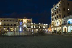 Plaza Vieja Havana evening Royalty Free Stock Photo