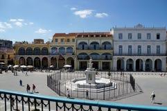 Plaza Vieja in Havana stock image