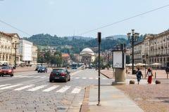 Plaza Vittorio Veneto Imagenes de archivo