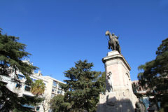 Plaza Zabala in Montevideo Royalty Free Stock Image