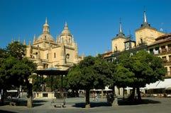 Plazaborgmästare av Segovia. Arkivbilder