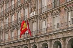 Plazaborgmästare Madrid arkivfoto