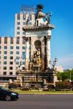 Plazaen av den Spanien monumentet Royaltyfri Fotografi
