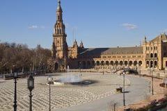 Plazaespagna, andaloucia, sevilla Royaltyfri Bild