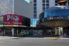 Plazahotell och kasino Arkivbild