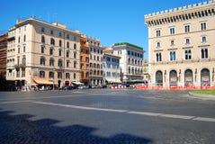 plazaVittorio Emanuele II monument - Rome Royaltyfria Foton