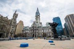 plaze di paine di thomas in città concentrare dur di Philadelphia, Pensilvania Fotografia Stock
