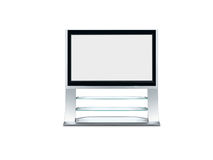 Plazma TV Set Royalty Free Stock Image