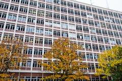 PLC που χτίζει Univerisyt της πανεπιστημιούπολης του Όρεγκον Στοκ Φωτογραφίες