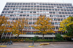PLC που χτίζει Univerisyt της πανεπιστημιούπολης του Όρεγκον Στοκ Εικόνες