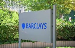 PLC της Barclays Στοκ φωτογραφίες με δικαίωμα ελεύθερης χρήσης
