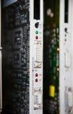 PLC. Programmable Logic Controller equipment Stock Photo