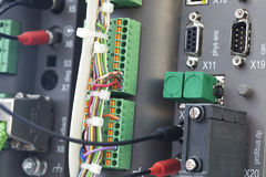 PLC automation Stock Photo