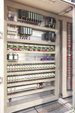 Plc automation panel board Royalty Free Stock Photography