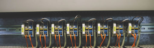 PLC Cabling Stock Images