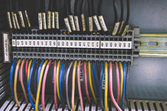 PLC Cabling Stock Photography