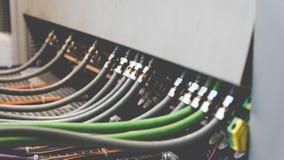 PLC Cabling Stock Photos