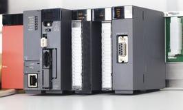 plc-enhet arkivbild
