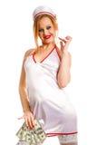 Plciowa pielęgniarka obrazy stock