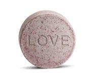 Píldora del amor Fotos de archivo libres de regalías
