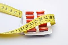 píldoras de la dieta Foto de archivo