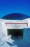Pôle du sud Image stock