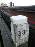 Pôle vingt-trois d'amarrage Photo libre de droits