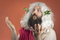 Pleading Zeus Royalty Free Stock Photos