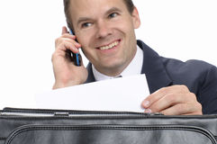Pleasant business letter Stock Image