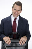 Pleasant business man Stock Photography
