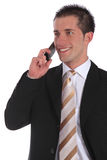 Pleasant call Stock Images