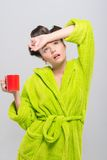 Pleasant housewife Stock Photography