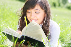 Pleasant reading Stock Photos