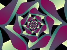 Pleasant spiral Stock Image