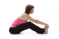 Pleasant stretching Royalty Free Stock Photo