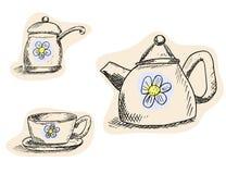 Pleasant tea Stock Photos