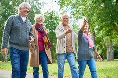 Free Pleasant Walk At Picturesque Park Stock Photo - 102790570
