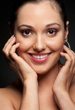 Pleasant young woman Royalty Free Stock Photos