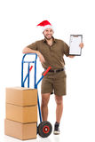 Please Confirm Christmas Delivery Royalty Free Stock Photo