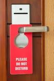 Please Do Not Disturb Stock Image