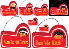 Please Do Not Disturb_eps Royalty Free Stock Photography